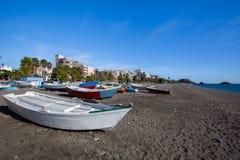 Spiaggia di Almunecar Fotografie Stock