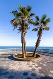 Spiaggia di Almunecar Immagini Stock Libere da Diritti