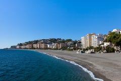 Spiaggia di Almunecar Fotografia Stock