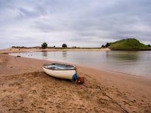 Spiaggia di Alnmouith Fotografie Stock Libere da Diritti