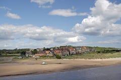 Spiaggia di Alnmouth Immagini Stock Libere da Diritti