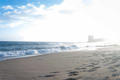 Spiaggia di Amaralina Fotografia Stock