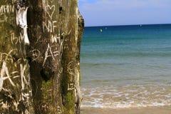 Spiaggia di amore Fotografie Stock