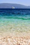 Spiaggia di Antisamos Immagine Stock Libera da Diritti