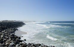 Spiaggia di Areao Fotografia Stock Libera da Diritti