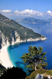 Spiaggia di Argostoli fotografia stock