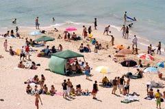 Spiaggia di Ascalona - Israele Fotografia Stock Libera da Diritti