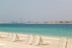 Spiaggia di Atlantis l'hotel della palma Immagine Stock Libera da Diritti