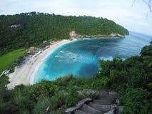Spiaggia di Atuh, Nusa Penida, Bali, Indonesia Fotografia Stock Libera da Diritti