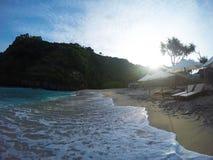 Spiaggia di Atuh, Nusa Penida, Bali, Indonesia Immagini Stock