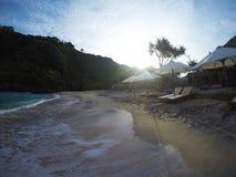 Spiaggia di Atuh, Nusa Penida, Bali, Indonesia Immagini Stock Libere da Diritti