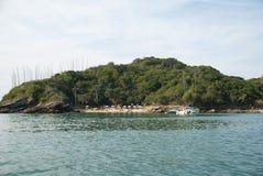 Spiaggia di Azedinha - Buzios - RJ fotografia stock