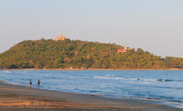 Spiaggia di Baan Klood, Tailandia. Immagini Stock