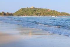 Spiaggia di Baan Klood, Tailandia. Immagini Stock Libere da Diritti