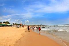 Spiaggia di Baga Fotografia Stock