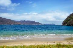 Spiaggia di Bahia Concha Immagini Stock Libere da Diritti