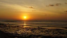 Spiaggia di Balangan Immagini Stock