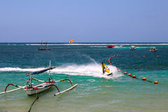 Spiaggia di Bali Fotografia Stock