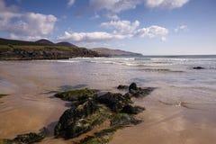 Spiaggia di Ballinskelligs Fotografia Stock
