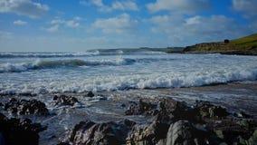 Spiaggia di Ballycroneen fotografia stock libera da diritti