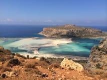 Spiaggia di Balos Immagini Stock