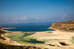 Spiaggia di Balos Immagini Stock Libere da Diritti