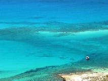 Spiaggia di Balos in Creta Immagini Stock