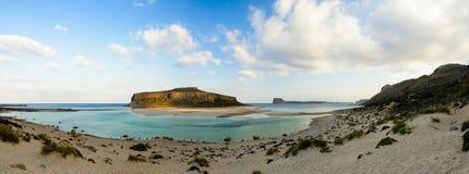 Spiaggia di Balos in Creta ad ovest, Grecia immagine stock