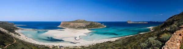 Spiaggia di Balos in Creta ad ovest, Grecia fotografie stock libere da diritti