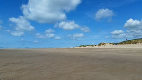 Spiaggia di Barmouth, Galles, Regno Unito Immagini Stock Libere da Diritti
