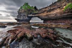Spiaggia di Batu Bolong, Bali Immagini Stock Libere da Diritti