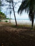 Spiaggia di Bayu Fotografia Stock