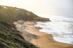Spiaggia di Belhi vicino a Torquay, Australia Immagini Stock