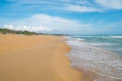 Spiaggia di Belice Fotografia Stock Libera da Diritti