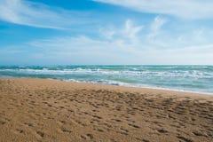 Spiaggia di Belice Immagini Stock