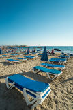 Spiaggia di Benidorm Fotografie Stock