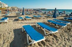 Spiaggia di Benidorm Fotografia Stock