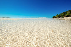 Spiaggia di bianco di Panglao Fotografie Stock
