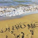 Spiaggia di Bibione Fotografia Stock Libera da Diritti