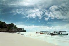 Spiaggia di bira di Tanjung Immagine Stock Libera da Diritti