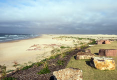Spiaggia di Birubi Fotografia Stock Libera da Diritti