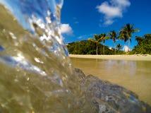 Spiaggia di Bluebeards, St Thomas Fotografie Stock Libere da Diritti