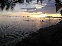 Spiaggia di Bocachica nella Repubblica dominicana fotografia stock libera da diritti
