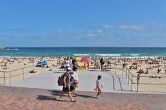 Spiaggia di Bondi, Sydney Fotografia Stock Libera da Diritti
