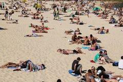 Spiaggia di Bondi a Sydney, Australia immagini stock libere da diritti