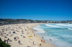 Spiaggia di Bondi, Sydney, Australia Immagine Stock Libera da Diritti