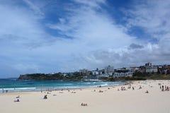 Spiaggia di Bondi sydney Il Nuovo Galles del Sud l'australia Fotografia Stock Libera da Diritti