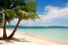 Spiaggia di Boracay Immagine Stock