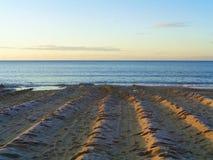Spiaggia di Bournemouth - Regno Unito fotografia stock