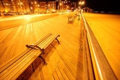 Spiaggia di Brighton dell'isola di Coney Fotografie Stock